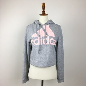 Adidas Hooded Sweatshirt Size Small